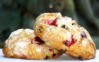 Mixed Berry Scones at Tony's Off Third