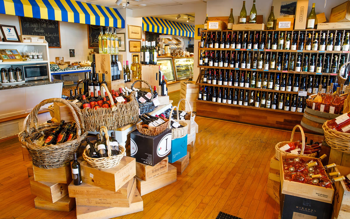 Wine Store at Tony's Off Third