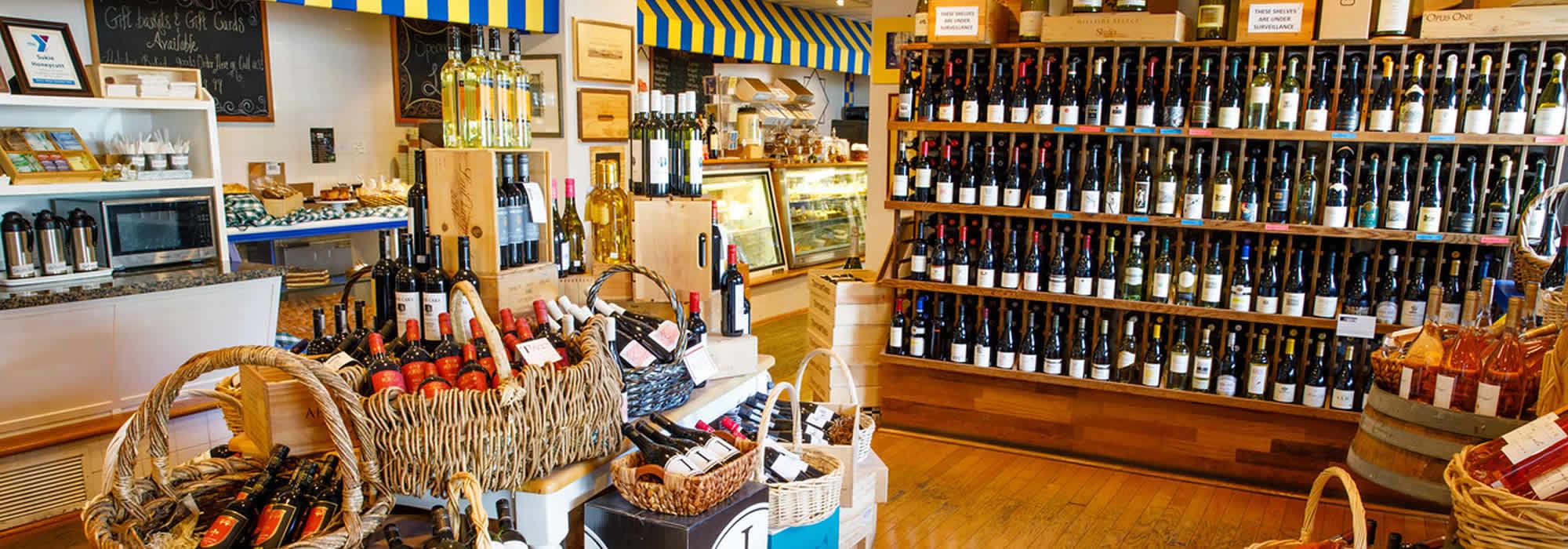 Wine Shop at Tony's Off Third