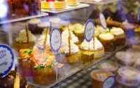 White Cupcakes and Pumpkin Tarts