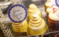 Lemon Meringue Tarts in Pastry Case