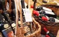 Bottles of Wine with Descriptive Label