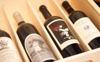High-End Red Wines In Crate